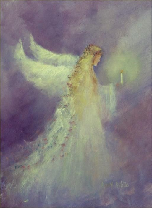 Painting of an angel
