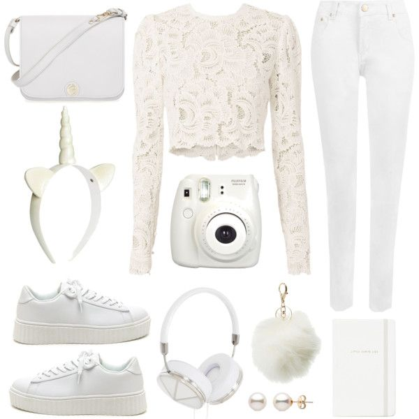 Untitled #43 by pastellilapsi on Polyvore featuring A.L.C., WearAll, Furla, Frends, Charlotte Russe, H&M, Kate Spade and Fujifilm