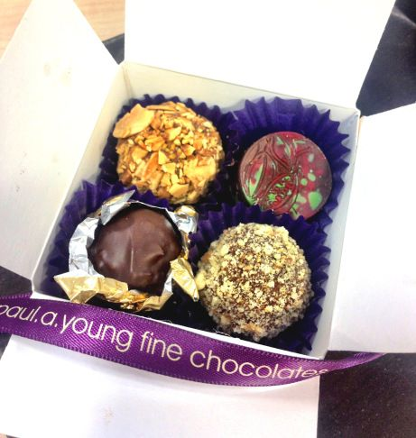 Chocolates from Paul A. Young