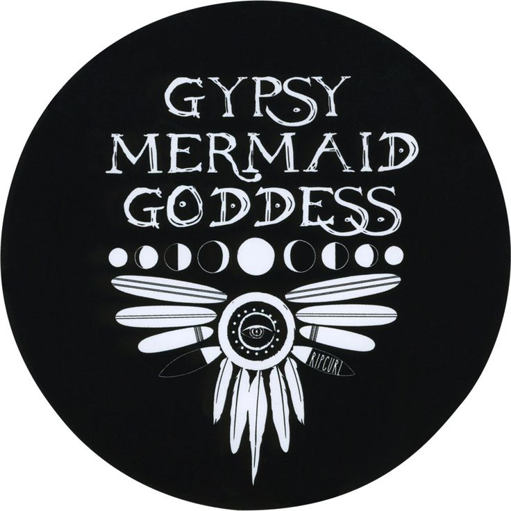 RIP CURL Gypsy Mermaid Sticker 256277100 | Stickers