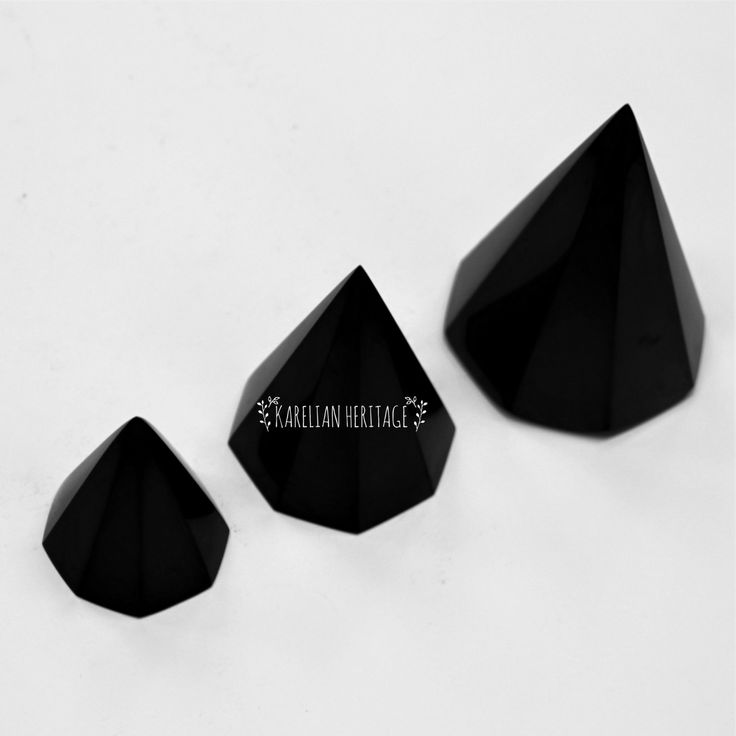 Shungite pyramids are the most POPULAR shungite items!  Apart from being effective means against EMR and geopathic zones, shungite pyramids provide you with PROTECTION by supplying you with positive energy and protecting you from harmful influences  Various pyramids, polished and non-polished, different shapes and sizes! ✨ Follow the link to find your PERFECT PYRAMID from $3.49!  #crystalmagic #pyramidpower #KarelianHeritage #KarelianShungite