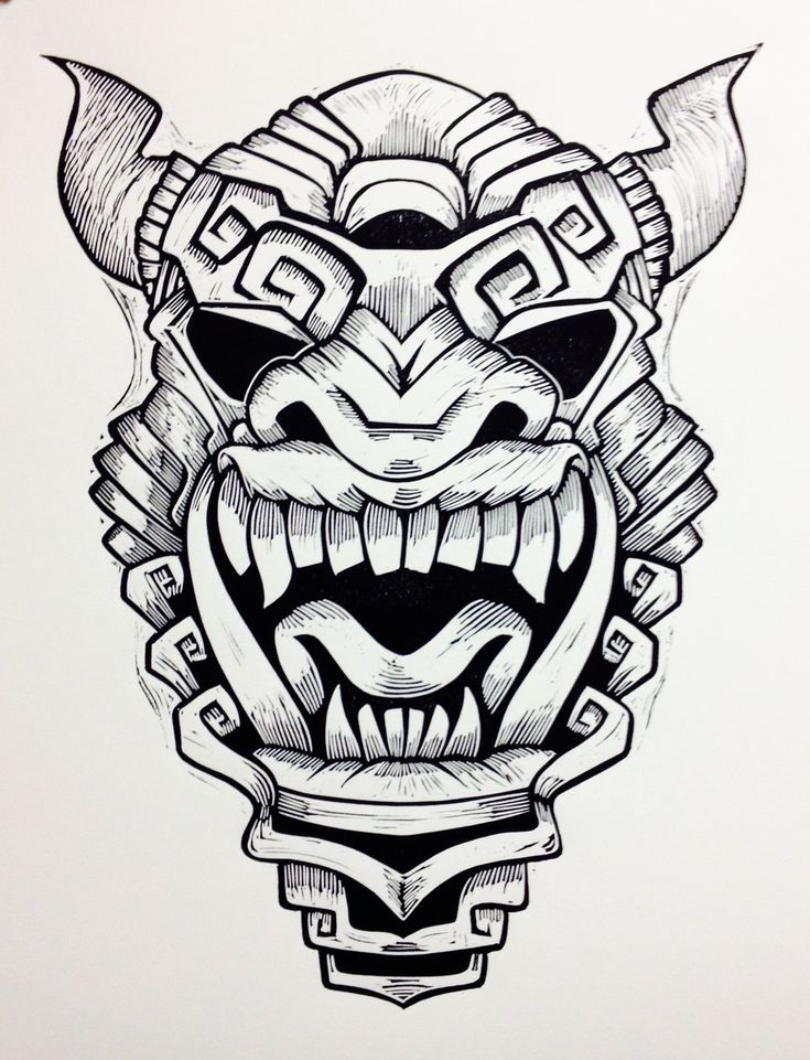 aztec mask template - 17 best images about cub masks on pinterest coloring