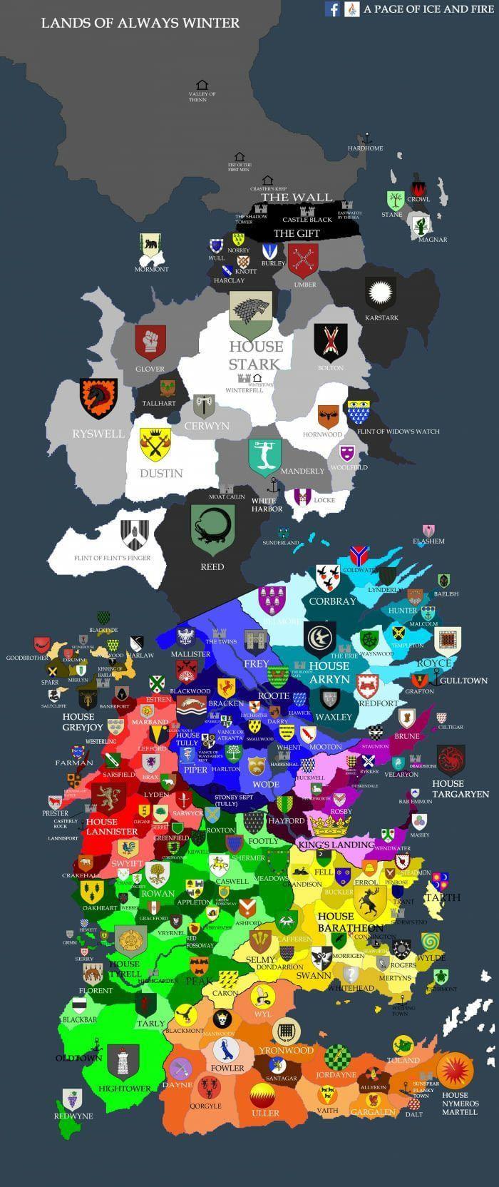 Westeros. – #map #Westeros