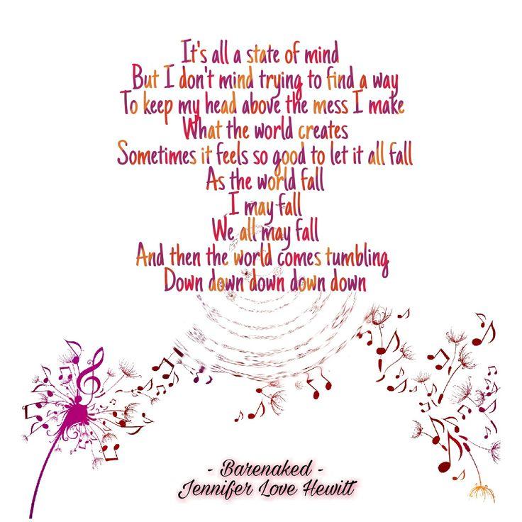Barenaked - Jennifer Love Hewitt