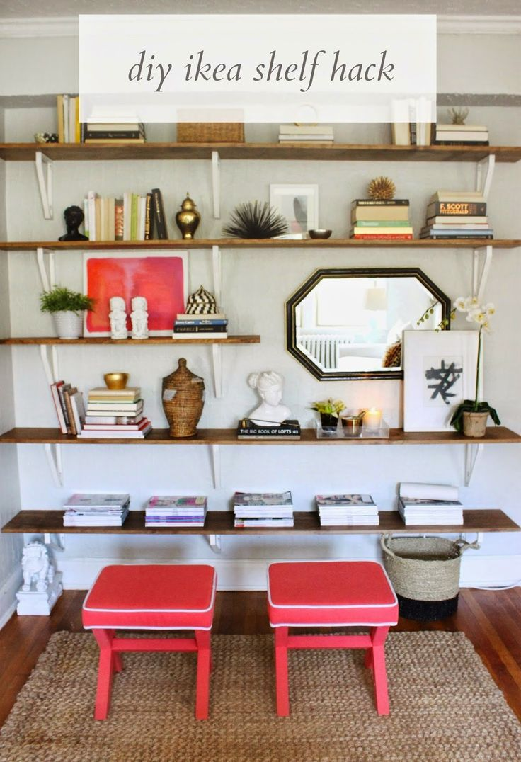Diy Ikea Hacked Shelving Unit How To Create An Entire
