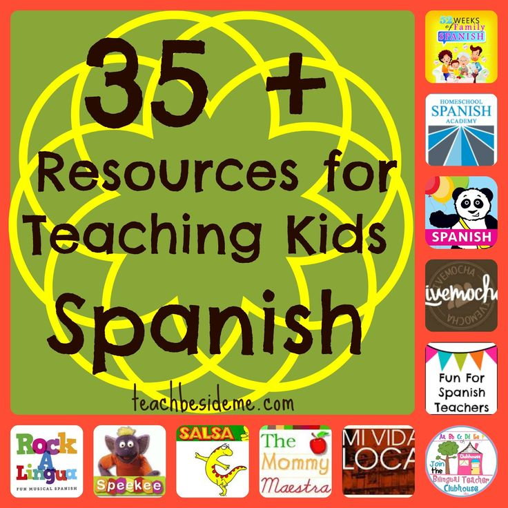 Spanish Teaching Resources for Kids...or adults wanting to learn:)