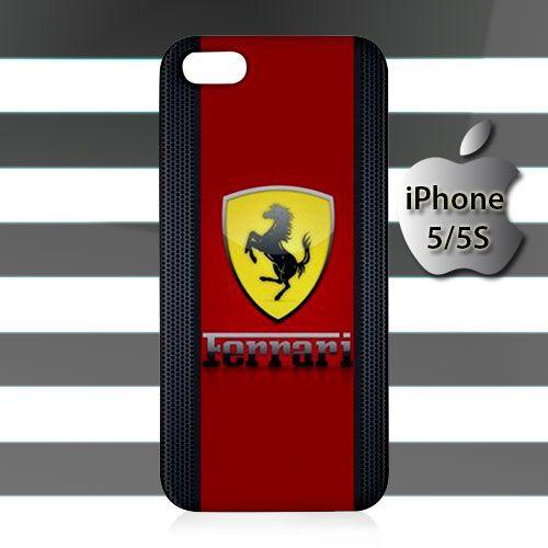 Ferrari Logo iPhone 5 5s Case Cover Hardshell