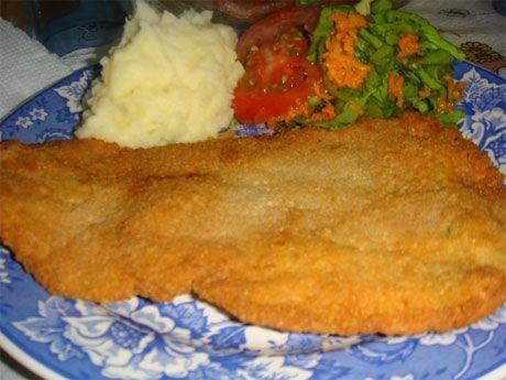 Cómo preparar milanesas de pescado