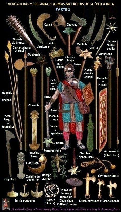 Weapons of the incas