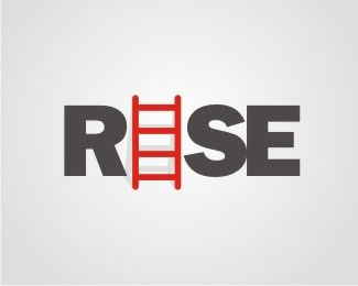 rise Logo design - This is the type of business development consulting firm.<br />ladder is a means to ascend to higher. so that was my inspiration.<br /> Price $99.00