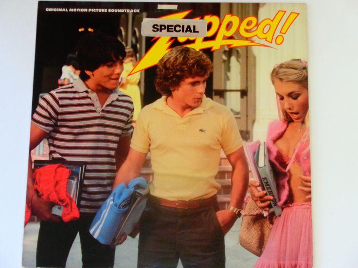 RARE Vinyl - Zapped! - Original Motion Picture Soundtrack - Sex Comedy Teen Film - Regency Records 1982 - Vintage Vinyl LP Record Album