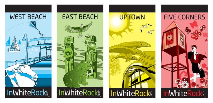 Street Banners For The City Of White Rock 2012 Graphic