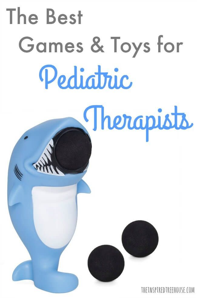 The Inspired Treehouse - These are occupational and physical therapists' favorite therapy games for kids!