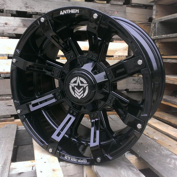 New rims for the Jeep....... Anthem Offroad Defender Gloss ...