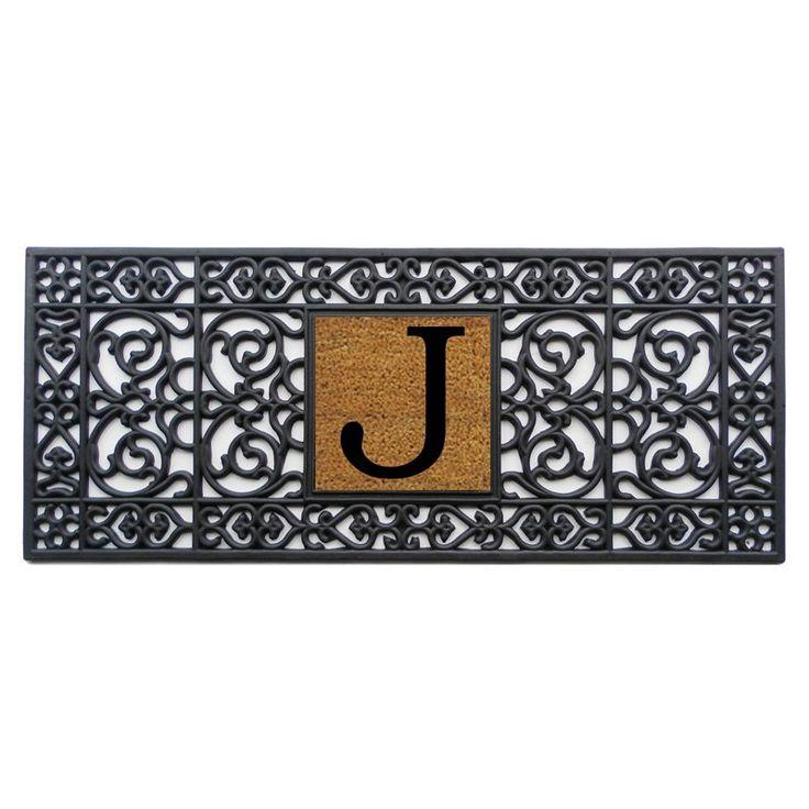 Home and More 17 x 41 Monogrammed Doormat - 17001