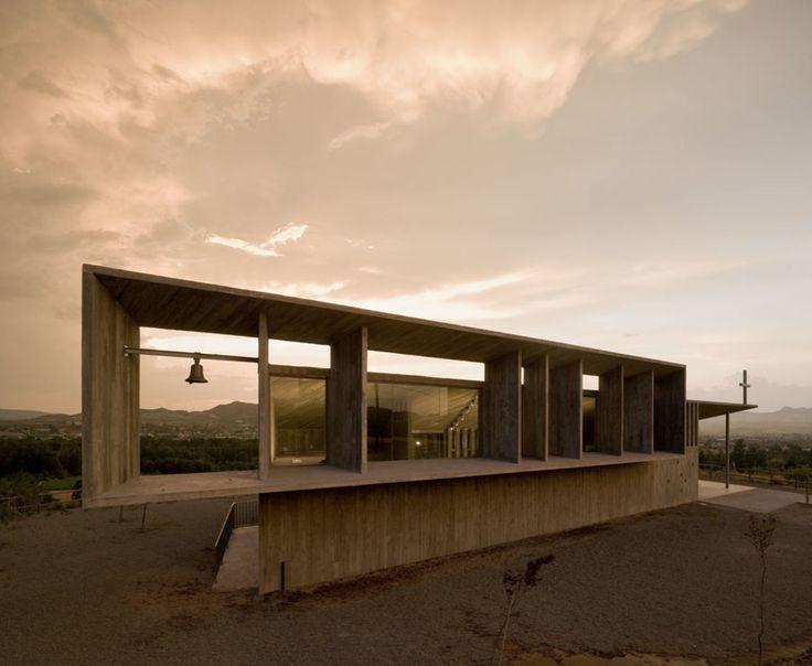 "Spain - Alberite, La Rioja Otxotorena Arquitectos Shrine of the Virgin of ""La Antigua"" in Alberite"