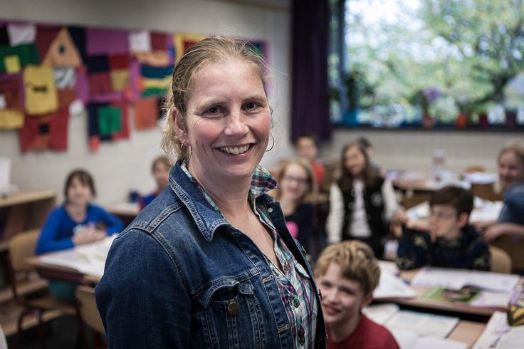 """""""Vol passie en met een luisterend oor geniet ik dagelijks van de kinderen in mijn groep.""""   Mayke van Dorenmalen, Salto Basisschool Het Karregat, Eindhoven. @LerarenVanNederland"""