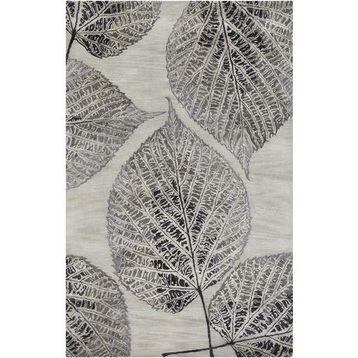 Banshee Charcoal & Cream Rug design by Surya