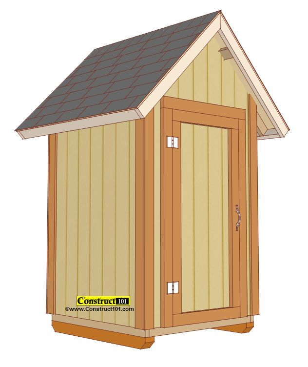 Best 25 small sheds ideas on pinterest backyard storage for Pdf shed plans