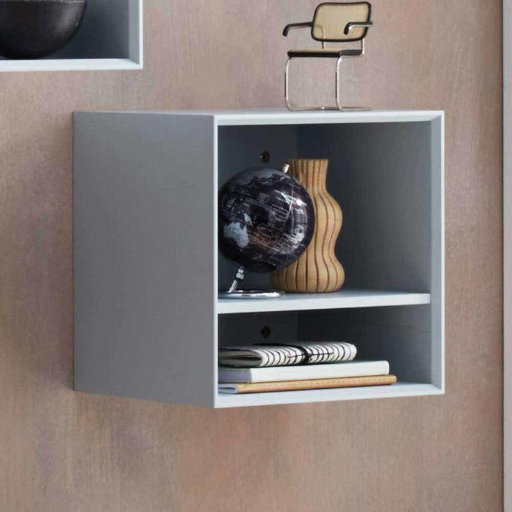Regalwürfel in Blau modern | Wohnzimmer > Regale > Regalwürfel | Blau | Holzwerkstoff | Möbel Exclusive