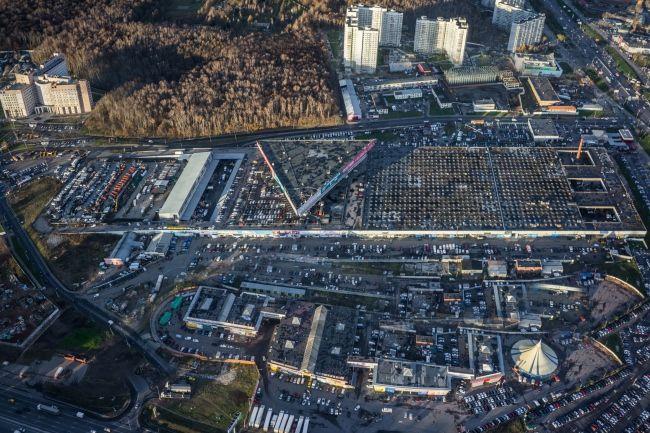 Станция технического обслуживания автомобилей «Жигули» на Варшавском шоссе © Денис Есаков и Дмитрий Василенко