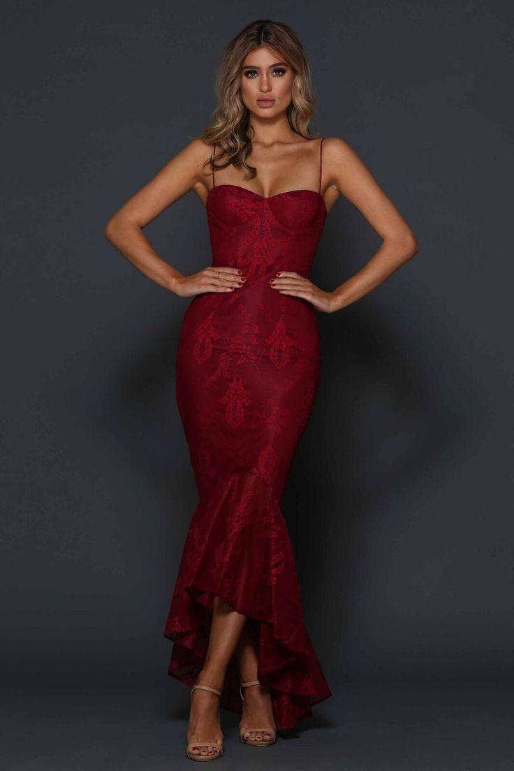 Elle Zeitoune  - Lorena Cherry  Dress