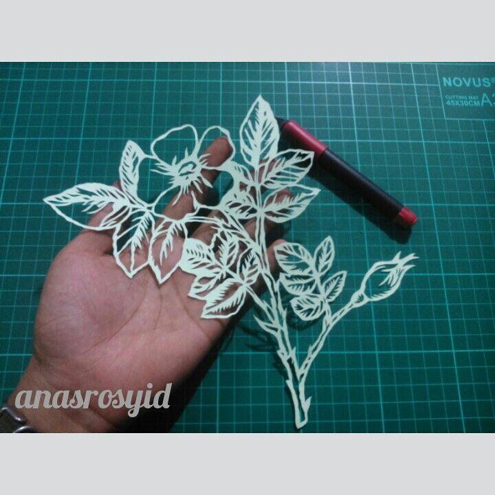 #flower #papercut