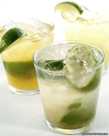 "Classic Caipirinha. This delicious recipe is from ""The Martha Stewart Show"" TV kitchen."