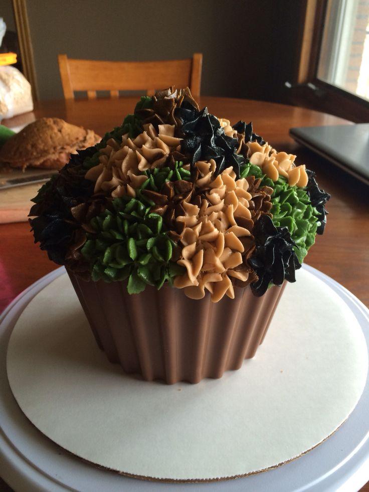Camo Smash Cake My Cakes Amp Cupcakes Pinterest Cakes