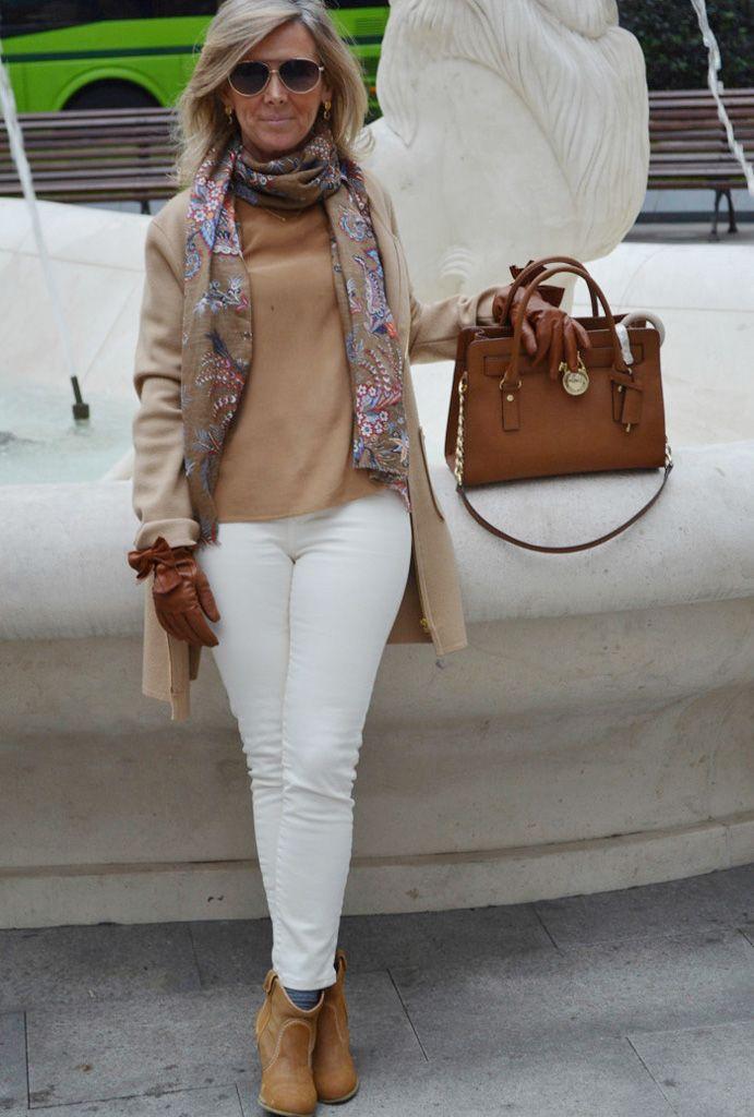 24a8d7cb Мода для пожилых женщин после 60 (63 фото): одежда для 60-летних дам ...