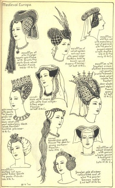 Village Hat Shop Gallery :: Chapter 7 - Medieval or Gothic Europe :: 61_G_001