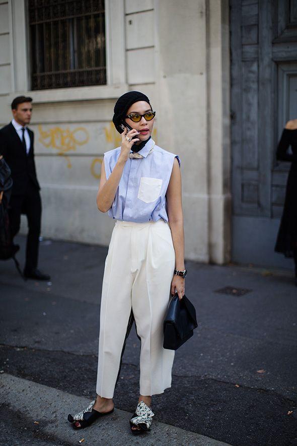 On the Street…Transition Dressing, Paris