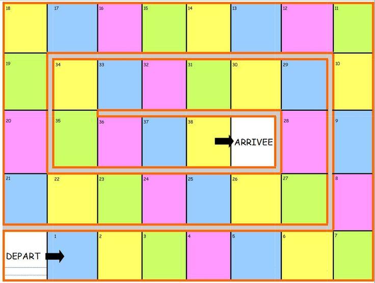 17 meilleures id es propos de jeu de l 39 oie sur pinterest jeu de l oie jeu de langage et - Le plateau des couleures valence ...