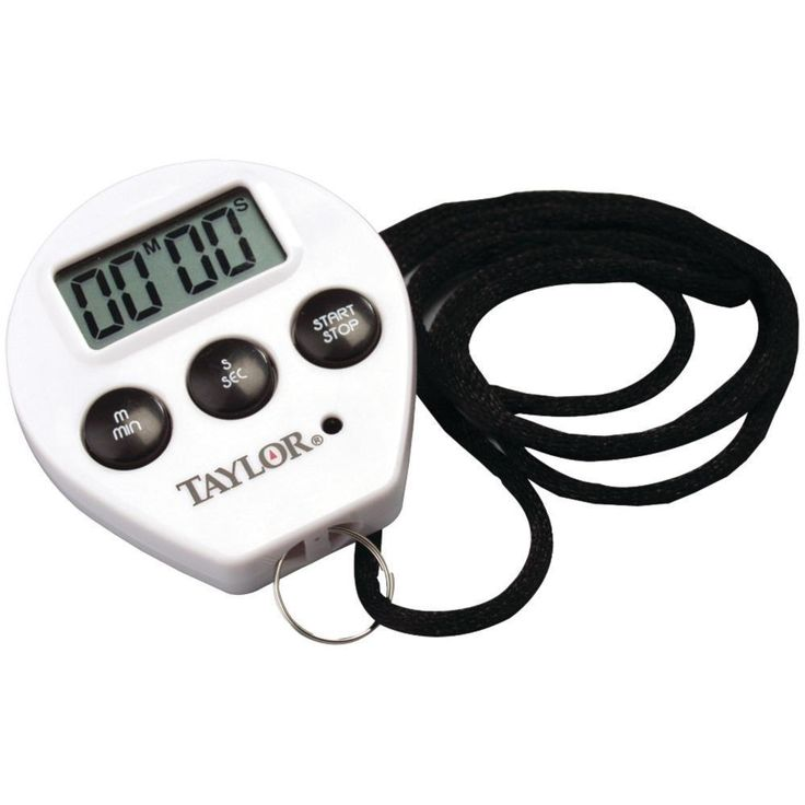 Taylor(R) Precision Products 5816N Chefs Timer-Stopwatch
