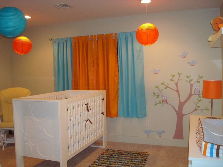 Colorful Curtains And Lanterns To Bring Color In