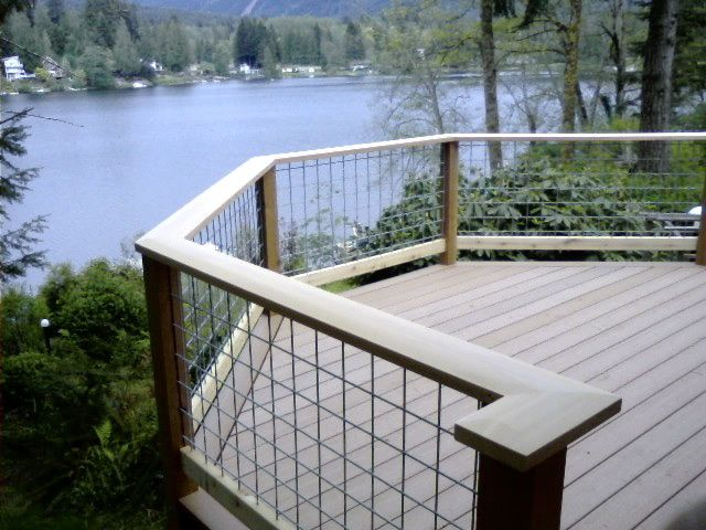 Images about wire deck railing on pinterest welded