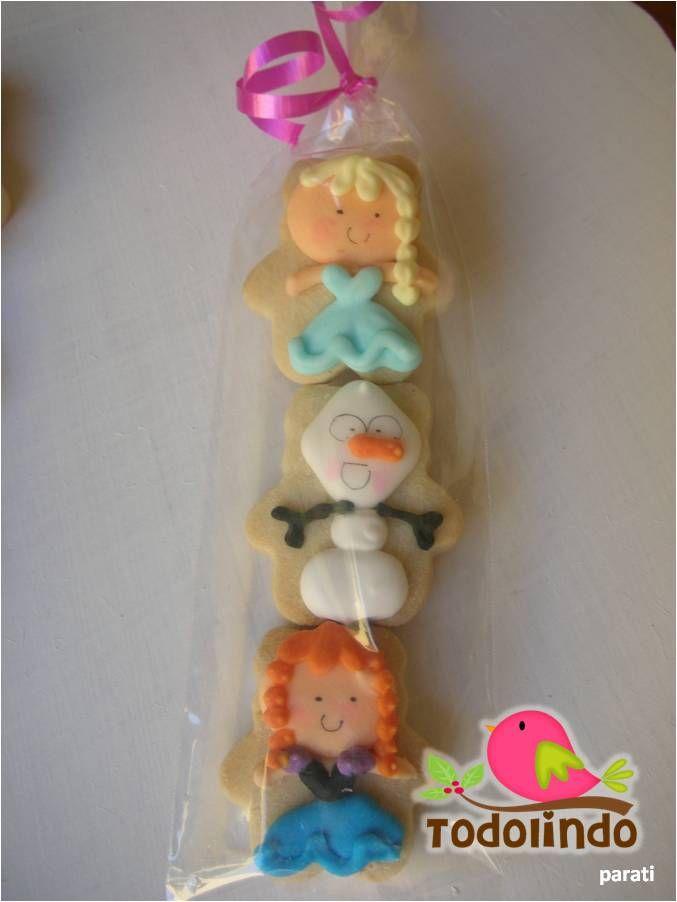 Pack galletas decoradas frozen www.facebook.com/todolindoparati