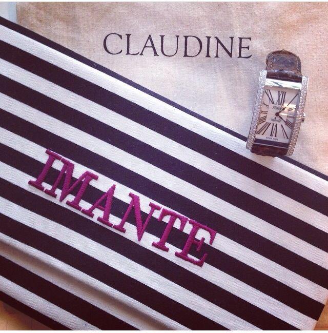 #imante #suarez #reloj #clutch #claudine #handmade #spain
