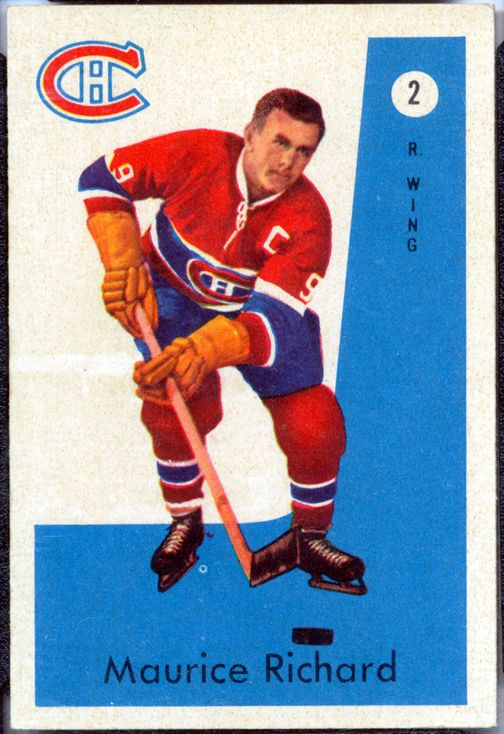 Maurice Richard Hockey Card