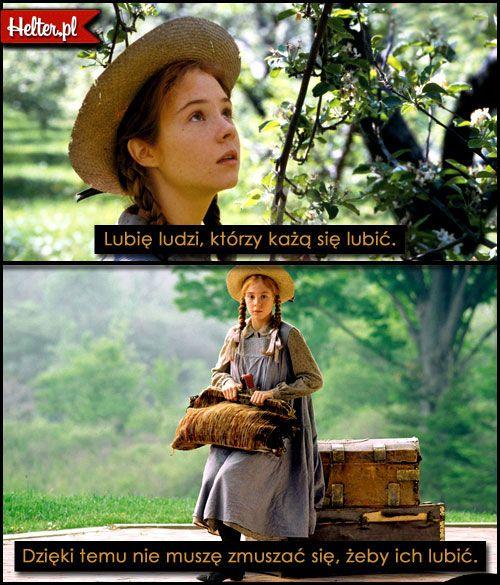 DISNEY Cytaty Filmowe z Filmu Ania z Zielonego Wzgórza #polskie #cytaty #filmowe #popolsku #helter #filmy #kino #aniazzielonegowzgórza #mądre #baśnie #książki