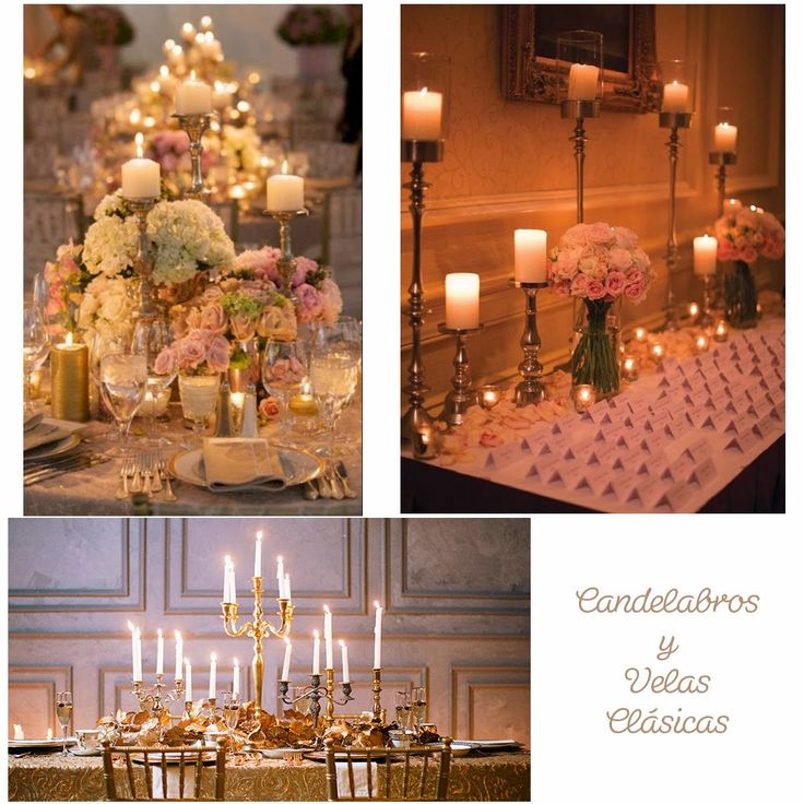 Blog de Organización de Bodas - Wedding Planner Madrid - Decoración Boda Candelabro