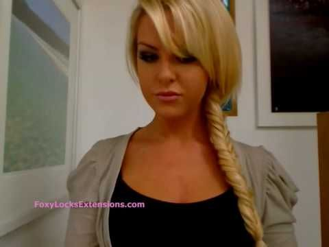 fishtail braid how to =D