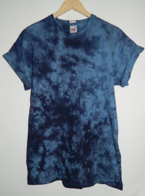 Tie Dye T-Shirt acid wash T-shirt hipster festival grunge marble Retro 90s indie dip dye unisex rave skate top