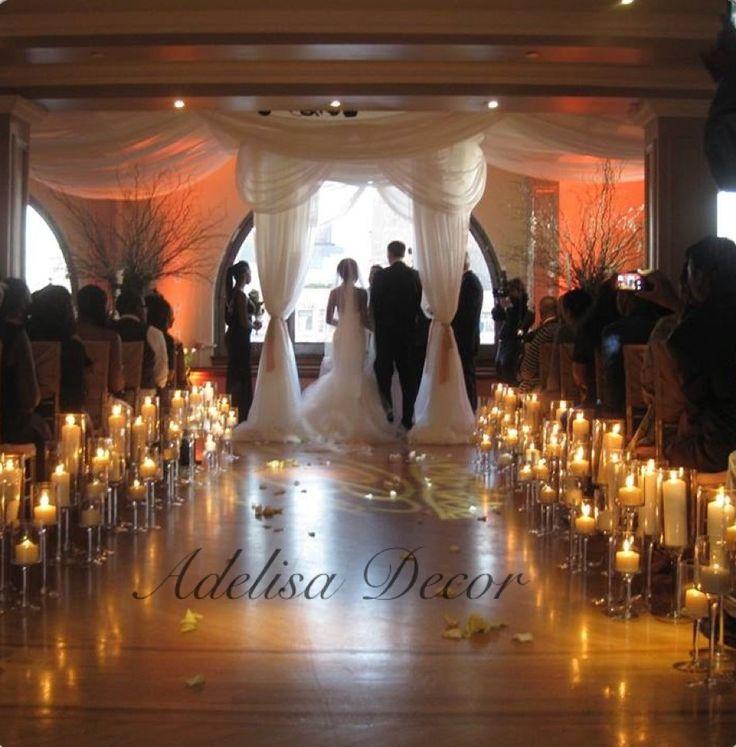 Romantic Wedding Ceremony Ideas: 27 Best Images About Wedding Ceremony Drapes