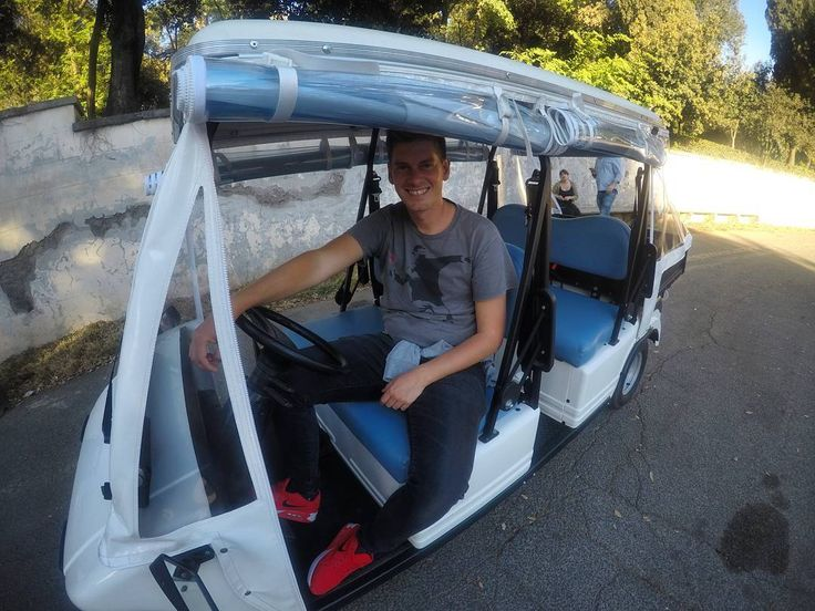 #rome by #golfcar with #tourguiderik for more info visit my website www.tourguiderik.com #rom #hiddenrome