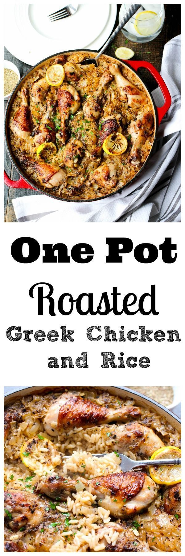 An incredibly easy and scrumptious chicken and rice dish made in just one pot!!!