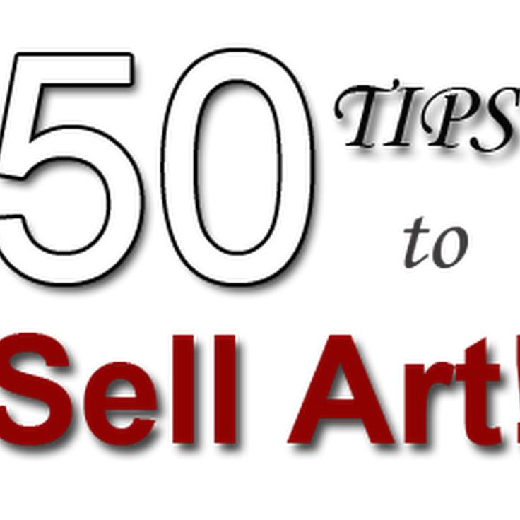 50 Effective Tips to Help You Sell Your Art Check out all the best tips and tricks for eBay sellers on ResellingRevealed.com  The best eBay blog on the net for BOLO lists, eBay How-To Guides, and more!