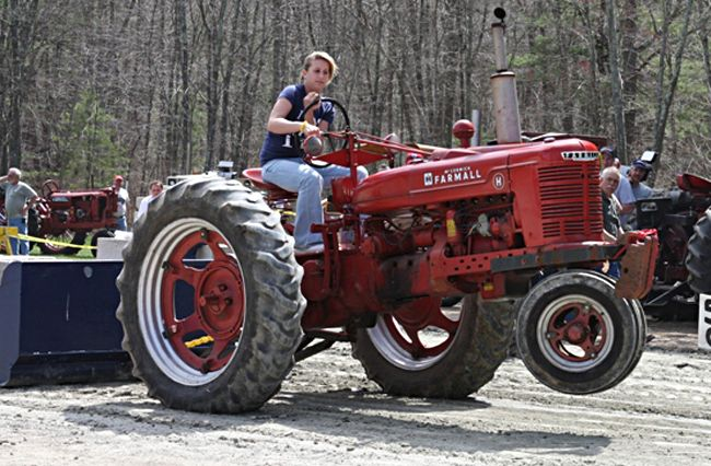 Tractor Pulling Tractor : Best images about tractors are for girls on pinterest