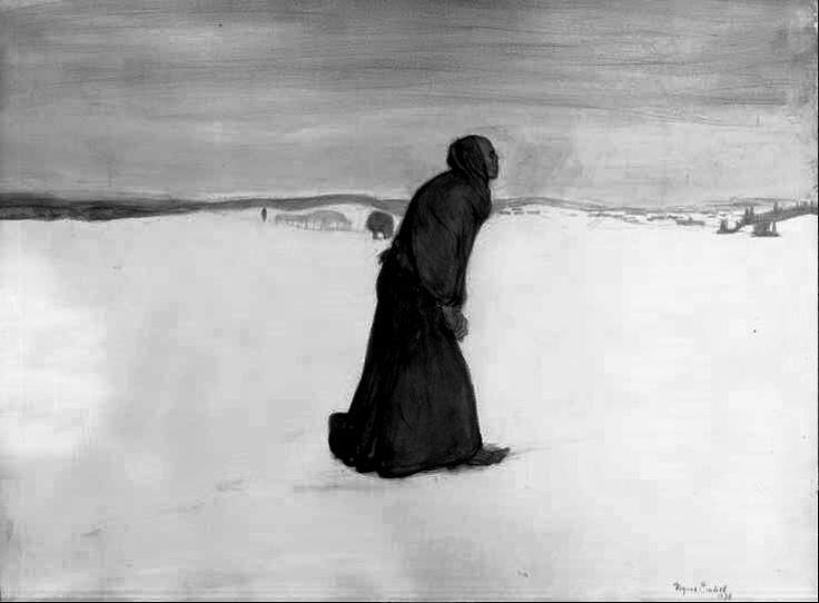 "Magnus Enckel - ""Death's Walk"" - 1896"