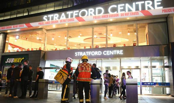 #Westfield #shopping centre #AcidAttacks : Six injured in east #London, #police at the scene
